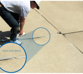 SlabGasket Driveway Expansion Joint Replacement
